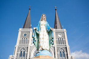 the cathedreal of the immaculate conception, Chanthaburi ,Thailand