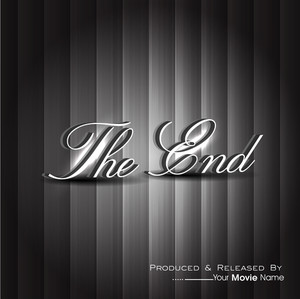 The End. Movie Ending Screen.