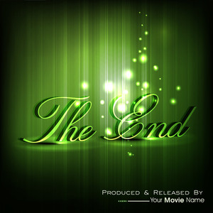 The End. Moving Ending Screen.