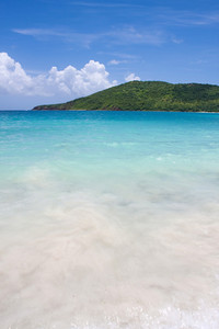 The far eastern shore across from Flamenco beach on the beautiful Puerto Rican island of Culebra.