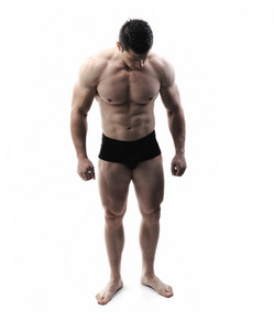 The Perfect male body - Awesome bodybuilder posing