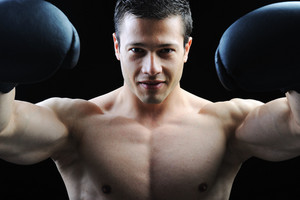 The Perfect male body - Awesome boxing fighter