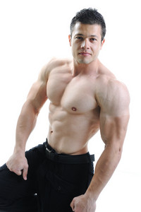 The Perfect male body - bodybuilder