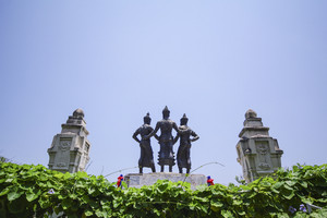 The Three Kings Monument,Chiang Mai Thailand