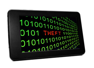 Theft Text On Pc Tablet
