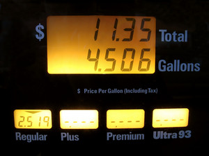 This illustrates the ridiculous gasoline prices that we have been seeing lately.