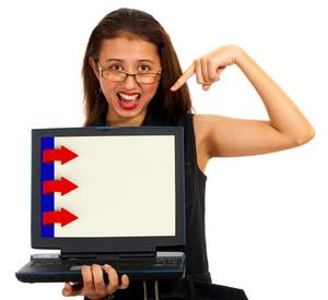 Three Arrows For Online Presentation List
