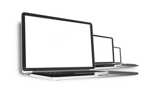 Three Computers Isolated