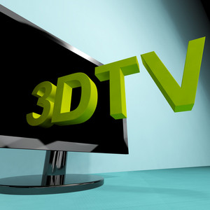 Three Dimensional Television Meaning 3d Hd Tv