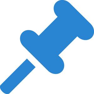 Thumbtack Simplicity Icon
