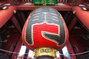 Thunder gate Asakusa temple in Tokyo Japan