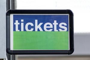 Tickets Signboard 329