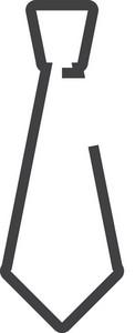 Tie Minimal Icon