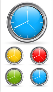 Time Clock Vectors