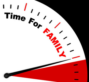 Time For Family Meaning Love And Romantic Home