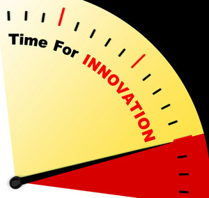 Time For Innovation Representing Creative Development And Ingenuity