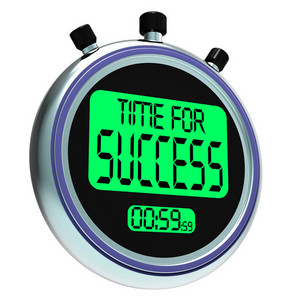 Time For Success Message Meaning Victory And Winning
