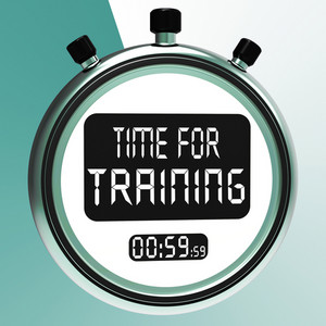 Time For Training Message Meaning Coaching And Instructing