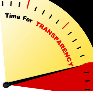 Time For Transparency Message Means Ethics And Fairness