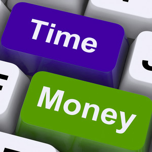 Time Money Keys Show Hours Are More Important Than Wealth