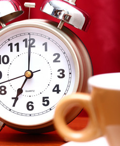 Time To Get Up Early In The Morning