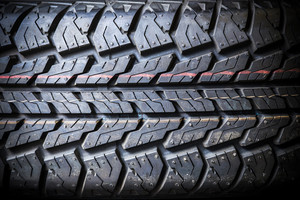 Tire background texture