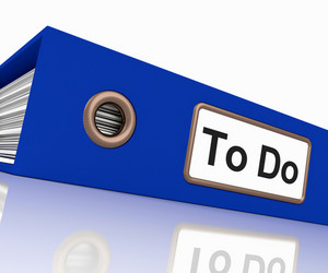 To Do File For Organizing Tasks