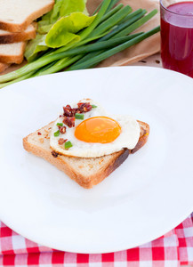 Toast Bread And Egg