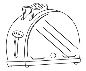Toaster Drawing Vector