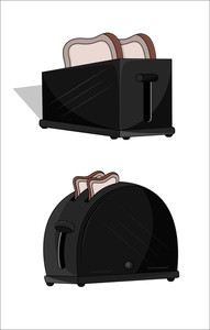 Toaster Vector Set
