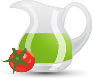 Tomato Juice Pitcher Icon