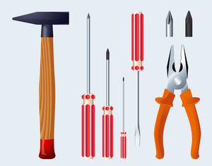 Tools. Vector.