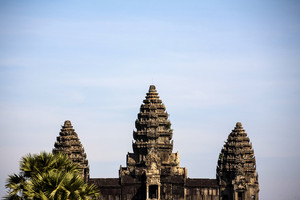 Top of Angor Wat, Cambodia, Siem Reap