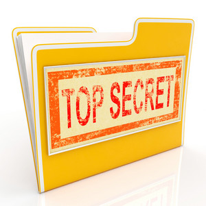 Top Secret File Shows Private Folder Or Files