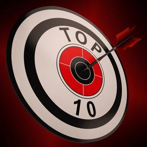 Top Ten Target Shows Best In Charts