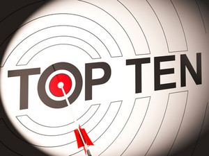 Top Ten Target Shows Special Rated Companies