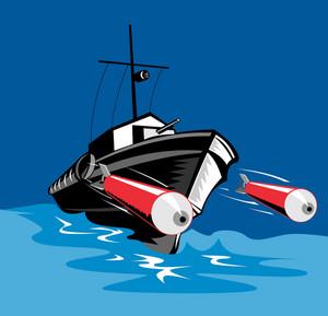 Torpedo Boat Retro