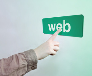 Touched Web Button