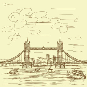 Tower Bridge Vintage