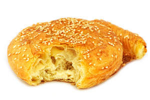 Traditional Cypriot Village Style Cheese Pie