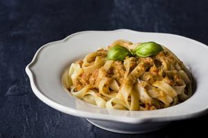 Traditional Italian Fettuccine Pasta