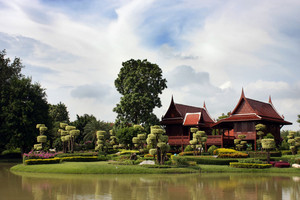 Traditional Thai Building