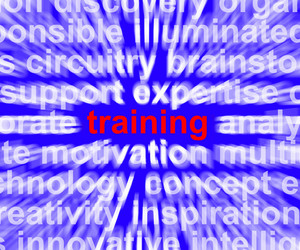 Training Word Showing Skills Learning From Seminar Or Instruction