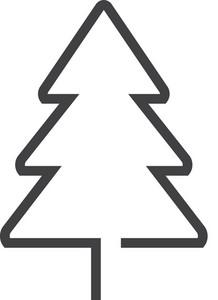 Tree Minimal Icon