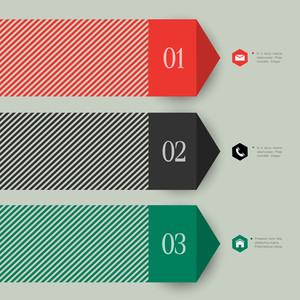 Trendy Banner Design For Infographics