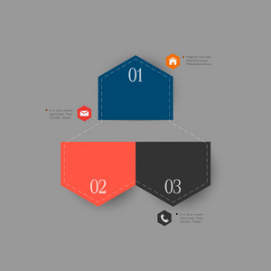 Trendy Design Template For Infographics