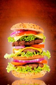 Triple Hamburger
