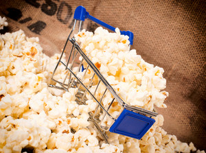 Trolley And Popcorn