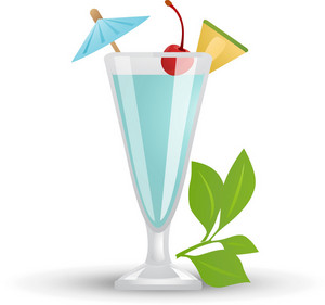 Tropical Cocktail Icon 3