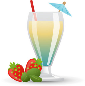 Tropical Drink Icon 3